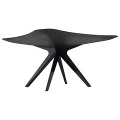 "David Adjaye ""Sniper"" Steel Table"