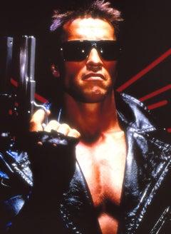 "Arnold Schwarzenegger as ""The Terminator"" Fine Art Print"