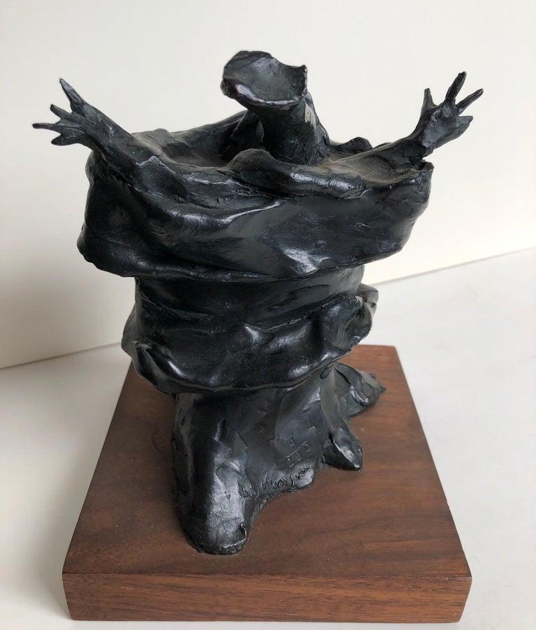 Bronze Sculpture Charles Dickens Figure American Boston Figural Modernist For Sale 1