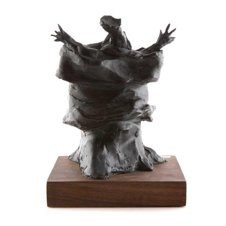 Bronze Sculpture Charles Dickens Figure American Boston Figural Modernist For Sale 2