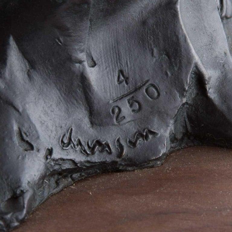 Bronze Sculpture Charles Dickens Figure American Boston Figural Modernist For Sale 5