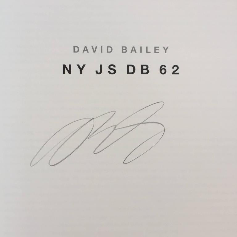 German David Bailey, NY JS DB 62, Signed For Sale