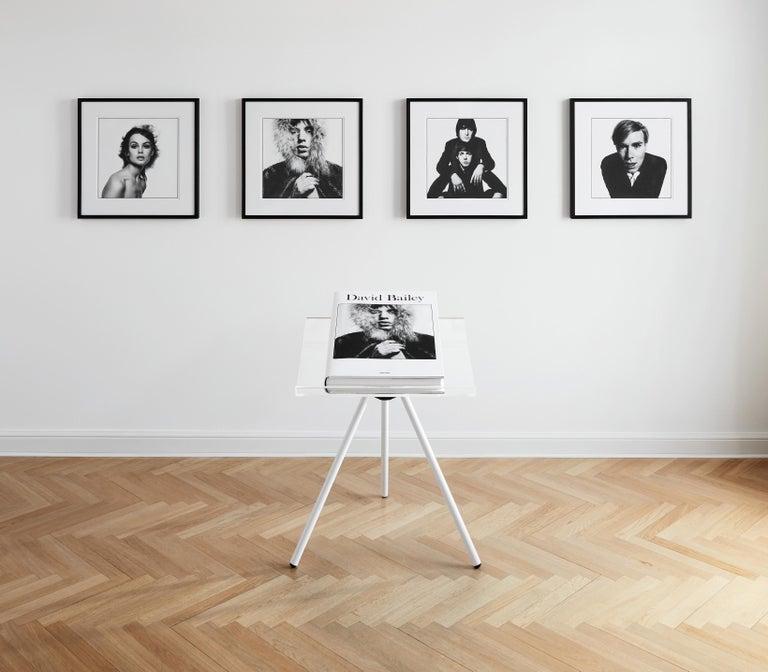 David Bailey. Art Edition No. 151-225 - Gray Black and White Photograph by David Bailey