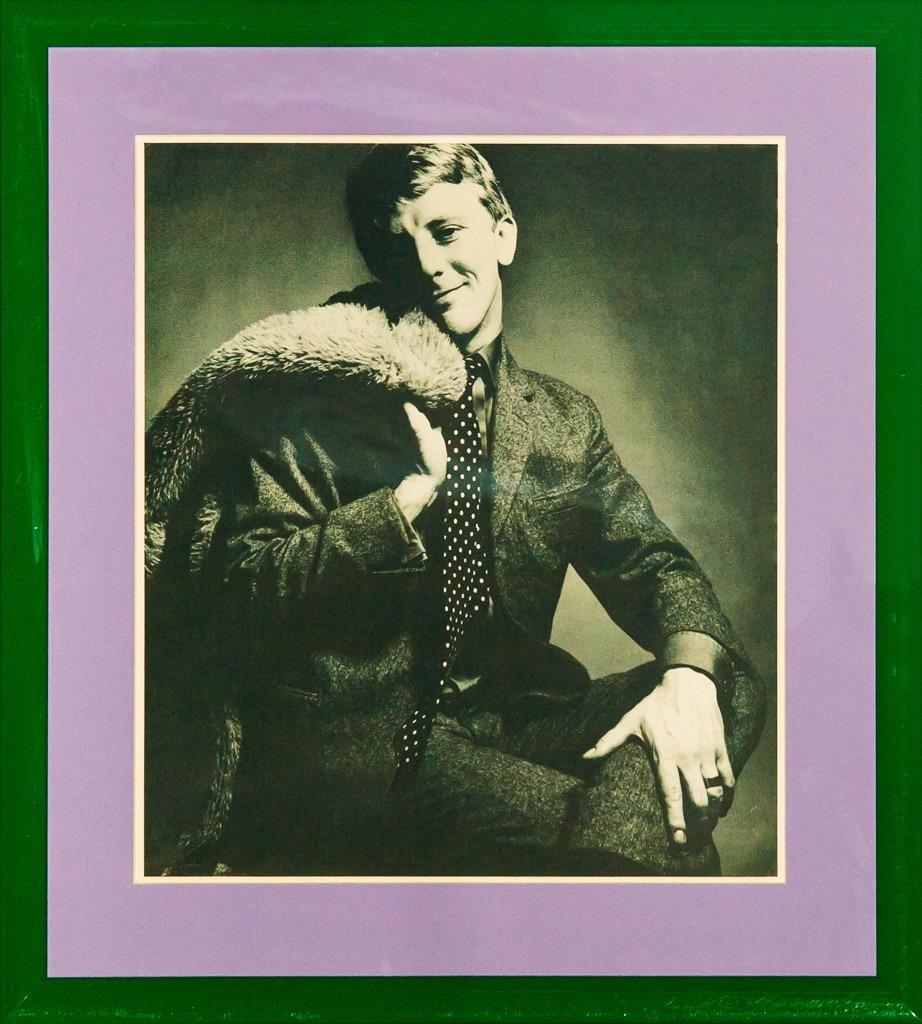 Gerald McCann: Dress Designer 1965 Half-Tone Print Photo For David Bailey's Box
