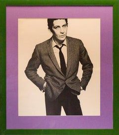 Brian Morris 1965 Half-Tone Photo Print by David Bailey for His Box of Pin-Ups