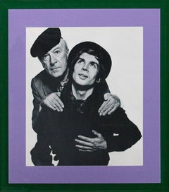 Cecil Beaton and Rudolf Nureyev c.1965 For David Bailey's Box of Pin-Ups