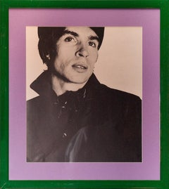 Rudolf Nureyev 1965 Half-Tone Photo Print For David Bailey's Box of Pin-Ups
