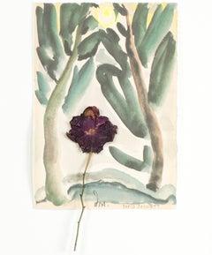 """Famous Artist Series - Homage to Arthur Dove & Georgia O'Keeffe,"" David Barnett"
