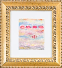 'Four Kisses on a Passionate Sea Variation' original signed mixed media artwork
