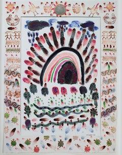 """Native American Southwest Series: Purple Rain Love the Earth"" by David Barnett"