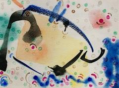 """Summerfest,"" original mixed media on canvas by David Barnett"