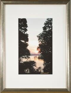 'Beaver Lake Sunrise, 9-6-2016' original signed fine art photograph