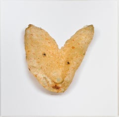 """Rabbit Disguised as a Tomato Basil Potato Chip,"" original by David  Barnett"