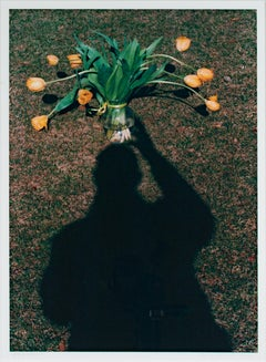 """Self Portrait: Hold Still - Life Illusion,"" Photograph signed by David Barnett"