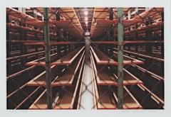 """Steinhafel's Warehouse Series Steel Forest Fenced,"" photograph by David Barnett"