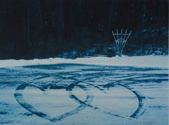 """Tracks of Love,"" original framed fine-art photograph by David Barnett"