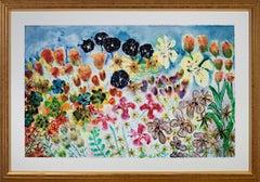 """Anticipating Spring,"" AP print after original watercolor by David Barnett"