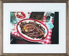 'Buca di Beppo - Chocolate Demolition Derby' signed trial proof photograph