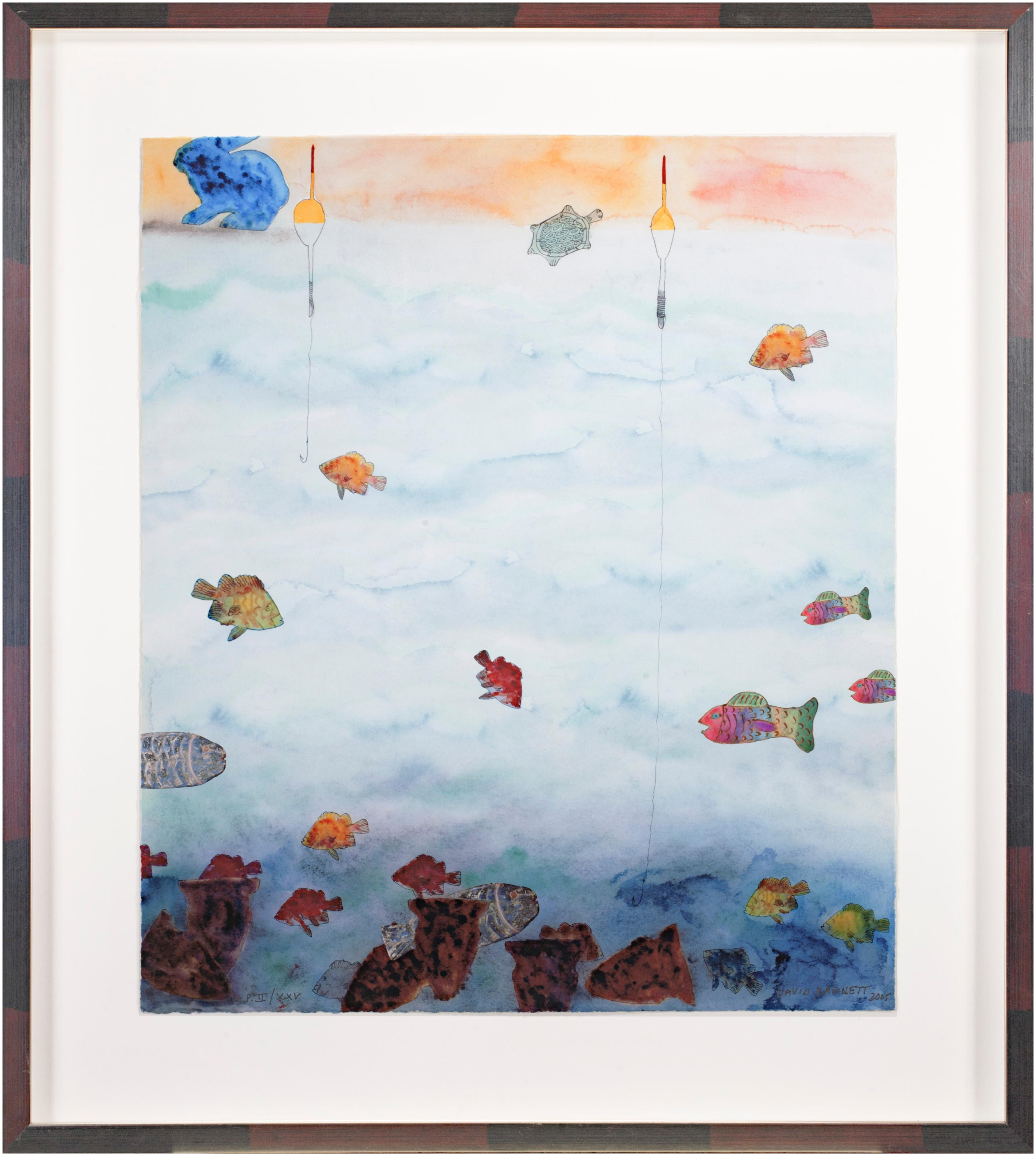 'Way Down Deep Revisited' signed artist's proof giclée print on watercolor paper