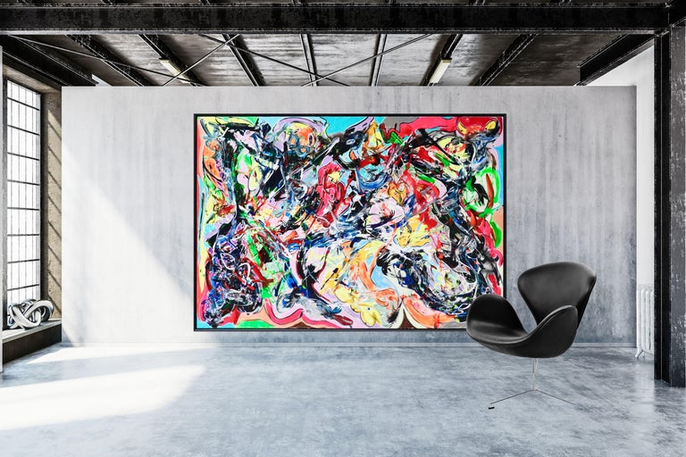 Inspiration from the Danish Cobra artists Asger Jorn and Carl-Henning Pedersen  About the Danish artist David Bjerre