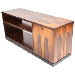 David Blomberg, Rosewood Bar Cube with Shelf, Sweden, 1930s