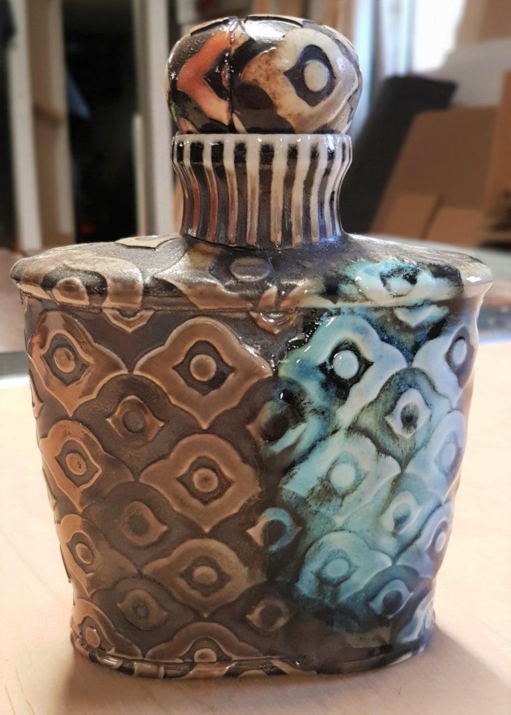 Peacock Bourbon Bottle II For Sale 5