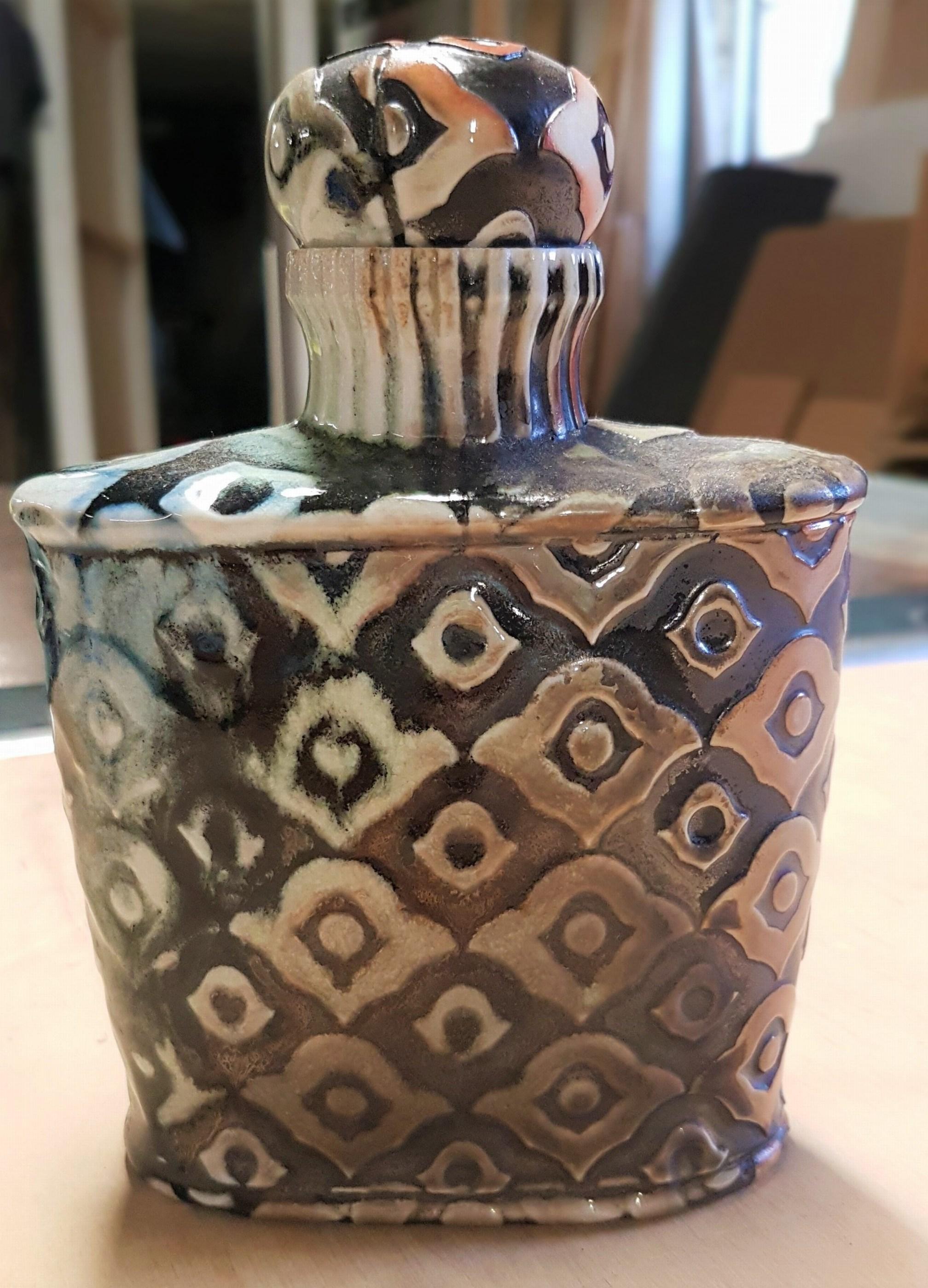 Peacock Bourbon Bottle II
