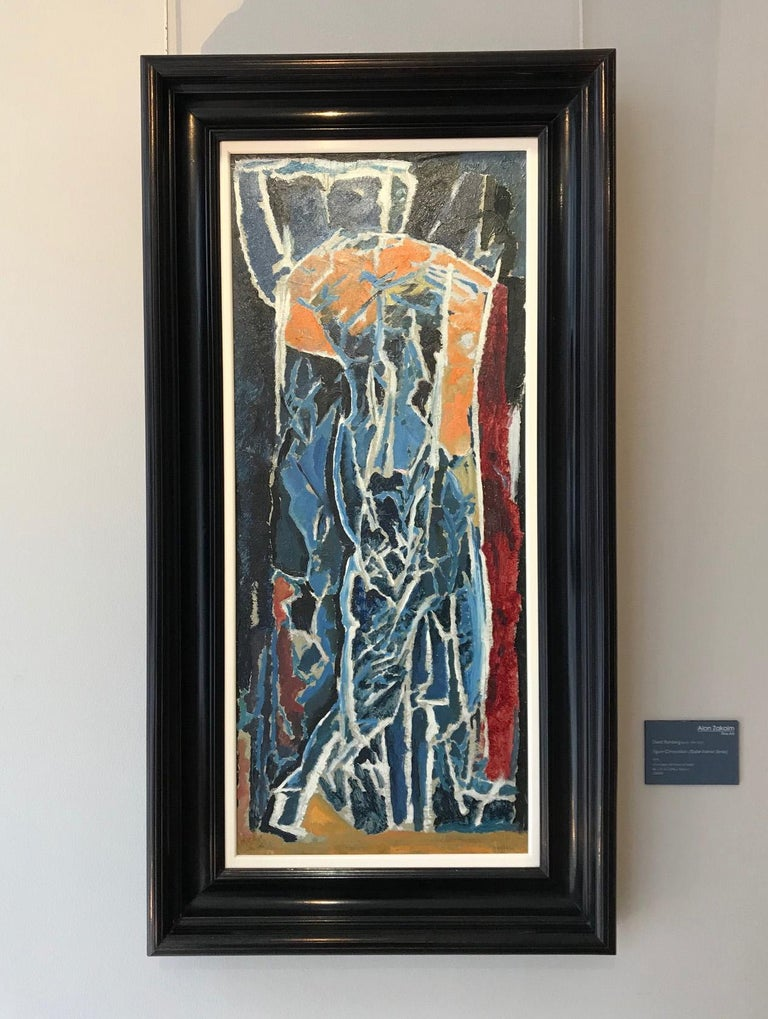 Figure Composition (Stable Interior Series) - David Bomberg, Modern, British For Sale 1