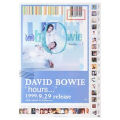 """""""David Bowie Hours"""" 1999 Japanese B2 Poster"""