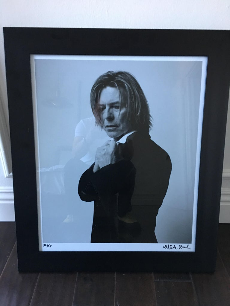 David Bowie Photograph by Mick Rock In Excellent Condition For Sale In Los Angeles, CA
