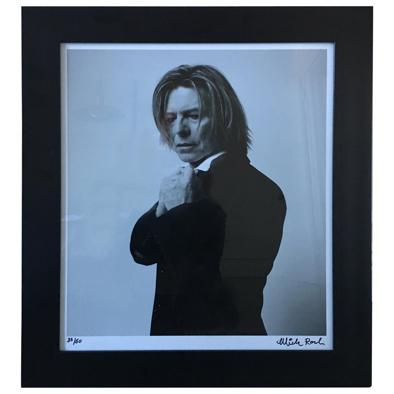 David Bowie Photograph by Mick Rock For Sale