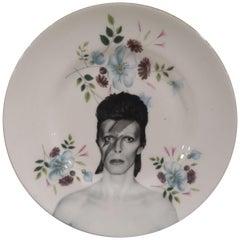 David Bowie vintage plate