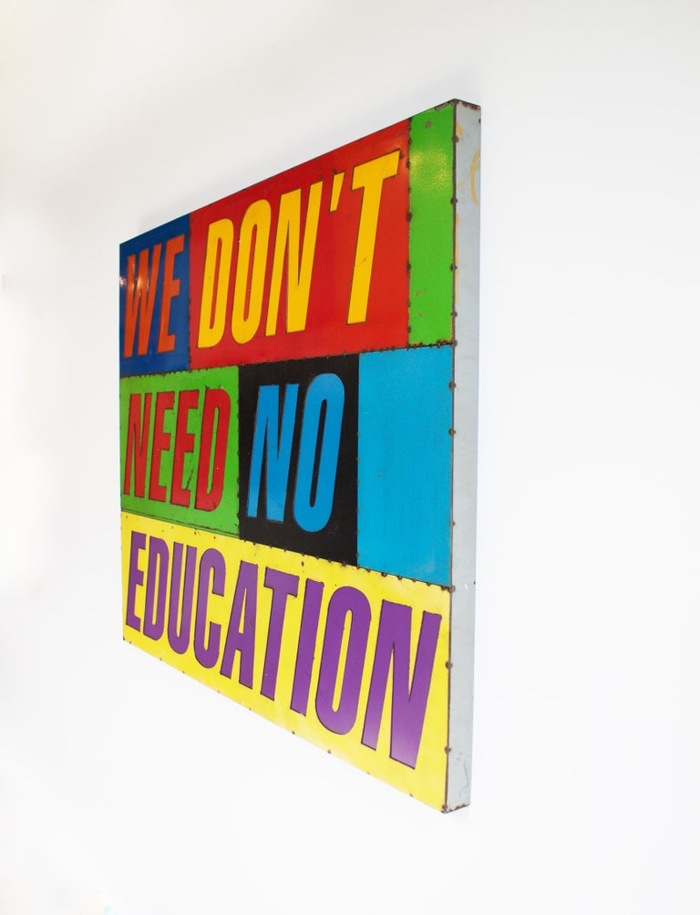 We Don't Need No Education - Contemporary Sculpture by David Buckingham