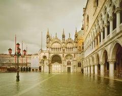 Acqua Alta, Piazza San Marco, Venezia Italy