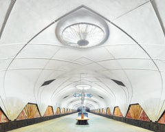 Aeroport Metro Station, Moscow, Russia