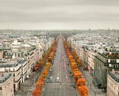 Avenue des Champs- Elysées, Paris France