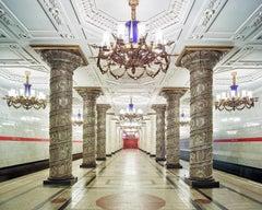 Avoto Metro Station, St. Petersburg, Russia