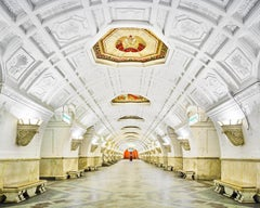Belorruskaya Metro Station, Moscow, Russia