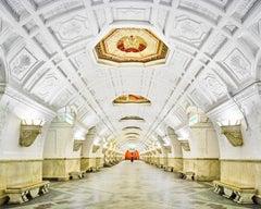 Belorusskaya Station, Moscow, Russia
