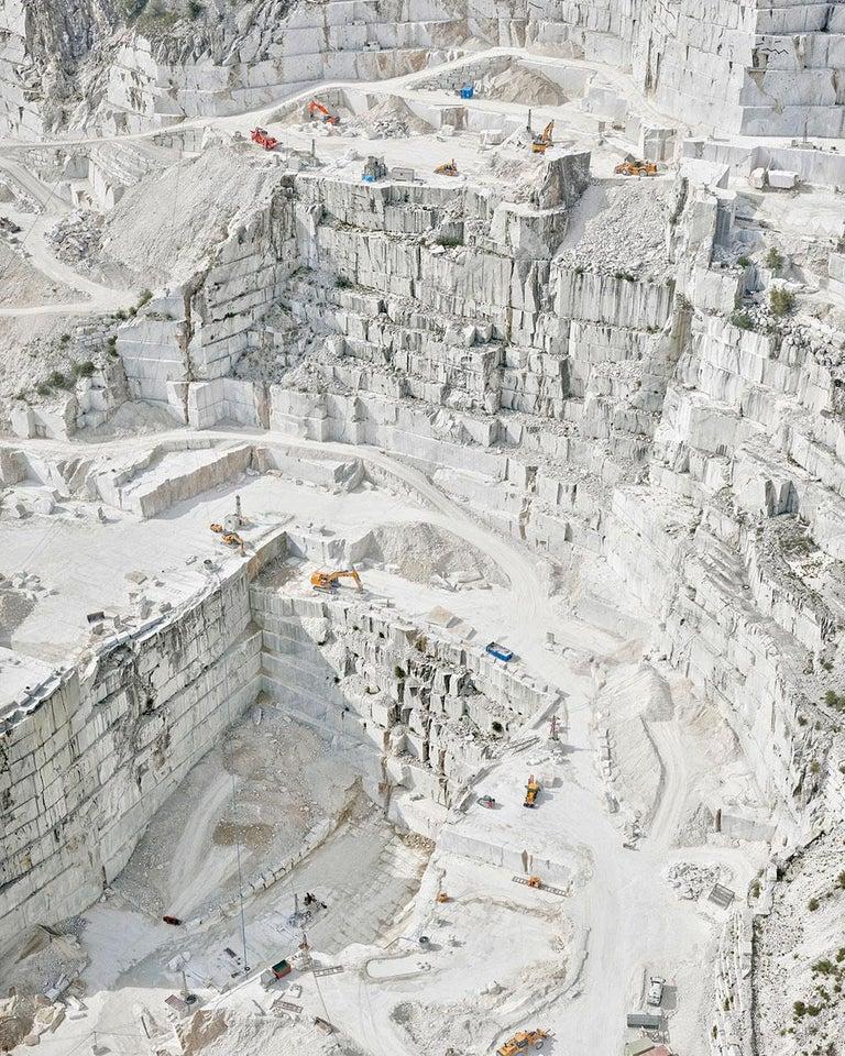 David Burdeny Landscape Photograph - Cava Bianco III, Carrara, IT