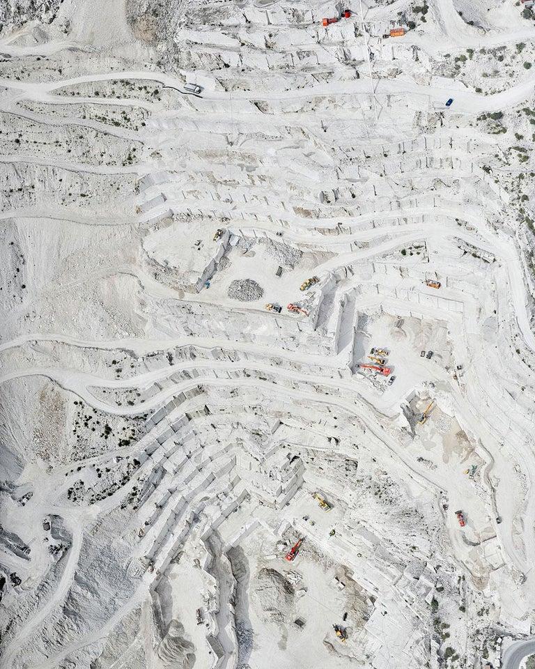 David Burdeny Landscape Photograph - Cava Bianco IV, Carrara, IT