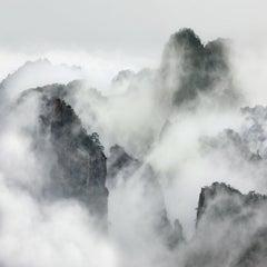 Ephemera, Haungshan, China, David Burdeny, Framed in White, Non-Reflective Plexi