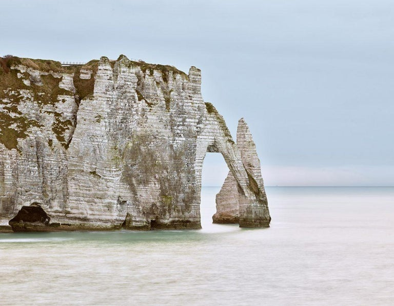 David Burdeny Landscape Photograph - Falaises d´Etretat, Normandy, France