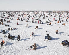 Ice Fishing, Brainerd, Minnesota