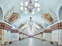 Kiyevskaya Station, Moscow Metro, Russia