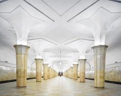 Kropotkinskaya Metro Station, Moscow, Russia