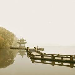 Man Watching Sunrise, Hangzhou, China