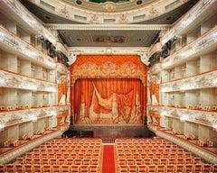 Mikhailovsky Theatre (Curtain), St Petersburg, Russia