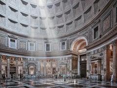 Pantheon (interior), Rome, Italy