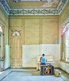 Piano Player,  Havana, Cuba